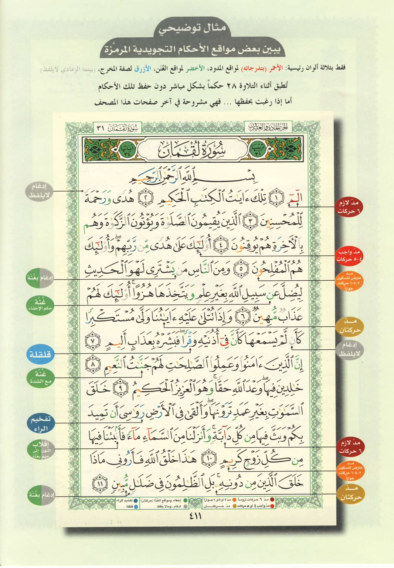 Color Coded Quran Pdf