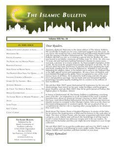 Newsletter Issue 30